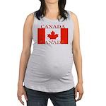 Canada.jpg Maternity Tank Top