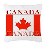 Canada.jpg Woven Throw Pillow
