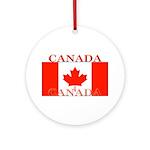 Canada.jpg Ornament (Round)