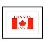 Canada.jpg Large Framed Print