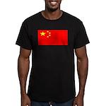 Chinablank.jpg Men's Fitted T-Shirt (dark)