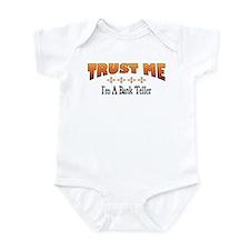 Trust Bank Teller Infant Bodysuit