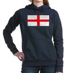 Englandblank.jpg Women's Hooded Sweatshirt