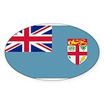Fijiblank.png Sticker (Oval 50 pk)
