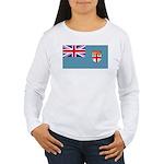 Fijiblank.png Women's Long Sleeve T-Shirt