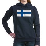 Finlandblank.jpg Women's Hooded Sweatshirt