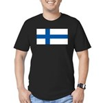 Finlandblank.jpg Men's Fitted T-Shirt (dark)