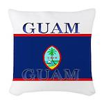 Guam.jpg Woven Throw Pillow