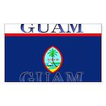 Guam.jpg Sticker (Rectangle 50 pk)