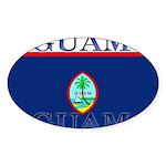 Guam.jpg Sticker (Oval 10 pk)