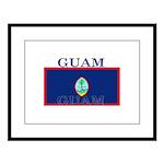 Guam.jpg Large Framed Print