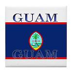 Guam.jpg Tile Coaster