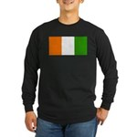 IvoryCoastblank.jpg Long Sleeve Dark T-Shirt