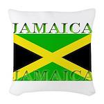 Jamaica.jpg Woven Throw Pillow