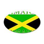 Jamaica.jpg 35x21 Oval Wall Decal