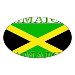 Jamaica.jpg Sticker (Oval 50 pk)