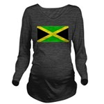 Jamaicablank.jpg Long Sleeve Maternity T-Shirt