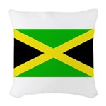 Jamaicablank.jpg Woven Throw Pillow