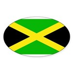 Jamaicablank.jpg Sticker (Oval 50 pk)