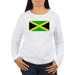 Jamaicablank.jpg Women's Long Sleeve T-Shirt
