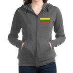 Lithuania.jpg Women's Zip Hoodie