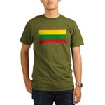 Lithuania.jpg Organic Men's T-Shirt (dark)