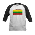 Lithuania.jpg Kids Baseball Jersey