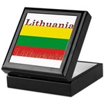 Lithuania.jpg Keepsake Box