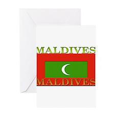 Maldives.jpg Greeting Card