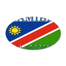 Namibia.jpg 35x21 Oval Wall Decal