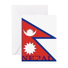 Nepal.jpg Greeting Card