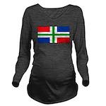 Groningenblank.jpg Long Sleeve Maternity T-Shirt