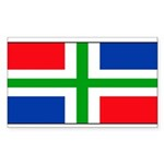 Groningenblank.jpg Sticker (Rectangle 50 pk)