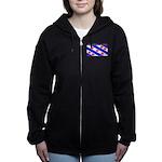 Frieslandblack.png Women's Zip Hoodie