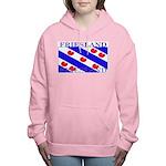Frieslandblack.png Women's Hooded Sweatshirt