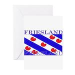 Frieslandblack.png Greeting Cards (Pk of 20)