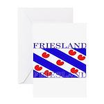 Frieslandblack.png Greeting Card