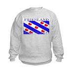 Frieslandblack.png Kids Sweatshirt