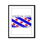 Frieslandblack.png Framed Panel Print