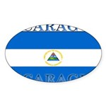 Nicaragua.jpg Sticker (Oval 50 pk)