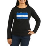 Nicaragua.jpg Women's Long Sleeve Dark T-Shirt