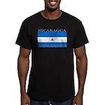 Nicaragua.jpg Men's Fitted T-Shirt (dark)