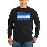 Nicaragua.jpg Long Sleeve Dark T-Shirt