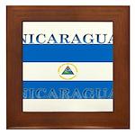 Nicaragua.jpg Framed Tile
