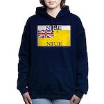 Niue.jpg Women's Hooded Sweatshirt