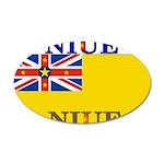 Niue.jpg 35x21 Oval Wall Decal