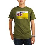 Niue.jpg Organic Men's T-Shirt (dark)