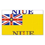 Niue.jpg Sticker (Rectangle 50 pk)