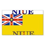 Niue.jpg Sticker (Rectangle 10 pk)