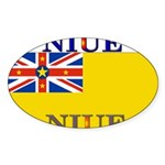 Niue.jpg Sticker (Oval 50 pk)